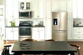 white kitchens with stainless appliances. White Cabinets Appliances New Color What Go With And Kitchens Stainless