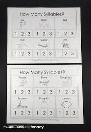 How Many Syllables? A Syllable Counting Printable Pack
