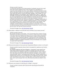 job interview essay questions co job interview essay questions