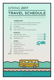 Travel Schedule Spring 2017 Travel Schedule Tcnj Lions Gate