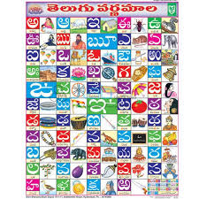 Educational Charts Manufacturers In India Jlab Export Is One Of The Leading Telugu Alphabet Chart