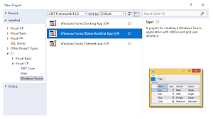 Winforms Ui Controls 60 Winforms Grids Charts Reports