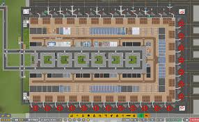 New airport. 12 medium stands up and running! No beggage yet. Slowly making  the airport complete. Framerate is slowly dropping.: airportceo