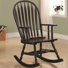 white wooden rocking chair. jack post je-128w-je white mission rocker, 25.75\ wooden rocking chair