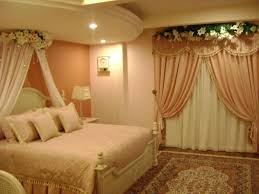 Wedding Bedroom Decorations Bed Jpg Wedding Bedroom Decoration With Flowers And Candles Beds