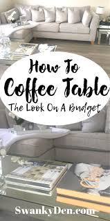 coffee table guide how to pick