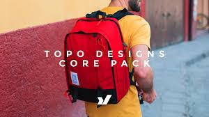 The Topo Designs Core Pack