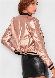 designed women coats jackets grey black metallic gold light rose mila faux leather er jacket