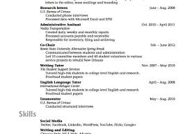 Student Resume For Summer Job It Studentesume Sample College Objective Samples For Summer Job No 24