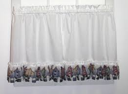 country ruffled curtains valances