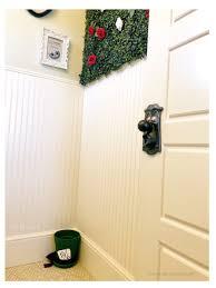 alice in wonderland bathroom diy