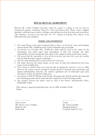 Sample House Lease Agreement 24 Lease Agreement Format Teknoswitch 22