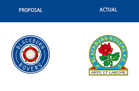 The current status of the logo is active, which means the logo is currently in use. Blackburn Rovers Logo Redesign