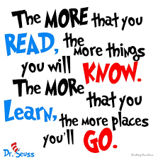 Doctor Seuss Quotes Inspiration Dr Seuss Quote The More That You Read The More Things You Will