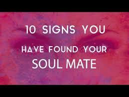 soulmate signs