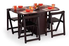 inspirational folding dining table and chairs set lovely