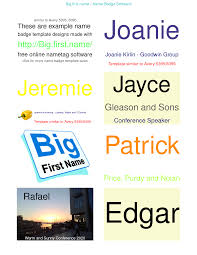Best Photos Of Sample Name Badge Template Blank Name Badge