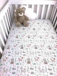 animal baby crib bedding woodland animals crib sheet forest animals baby sheet woodland nursery crib bedding