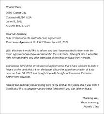 Termination Of Rental Agreement Letter Template - Fast.lunchrock.co