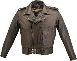 men s d pocket distressed brown biker jacket tap to expand
