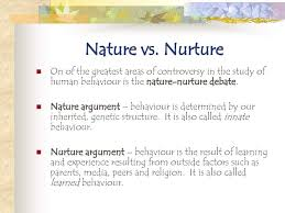 nature and nurture essay vs nurture essay in cold blood