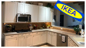 How To Paint Kitchen Cabinets Ikea Inspired Kitchen Youtube
