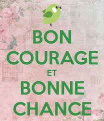 Image result for bonne chance mon ami