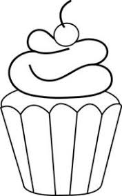Small Picture Printable Cupcake Coloring Pages party ideas Pinterest