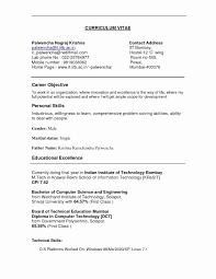 Resume Qualities Examples