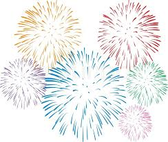 new years fireworks white background. And New Years Fireworks White Background