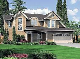 plan 69009am reverse layout two story