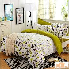 maylee high quality fashion 4pcs peaceful world queen fitted bedding set fm pfw