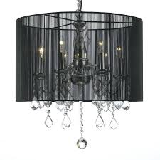crystal swag plug in chandelier lighting with shade amp feet of hanging chain pendant necklace