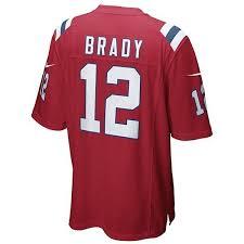 Jersey Red Brady Youth Tom