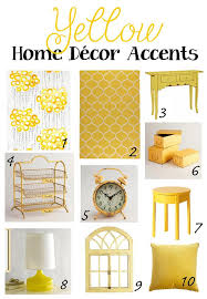 Yellow Home Decor Accents Yellow Home Decor Yay or Nay Brass and Whatnots 5