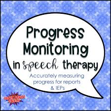 Speech Therapy Progress Chart Progress Monitoring In Speech Therapy Super Power Speech