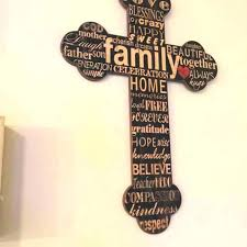 rustic cross wall decor image gallery sort crossword clue southwest crosses home wooden 3 large red