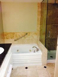hilton san antonio hill country large bathroom with jacuzzi brand jetted bath tub only
