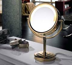 desk mirror with lights.  With Small Lighted Mirror Make Up To Magnify My Eye Lining  Attempts   In Desk Mirror With Lights W