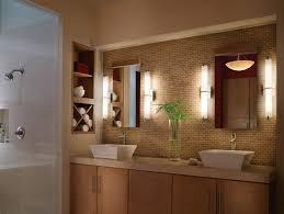 Bronze Mirror Bathroom Bathroom Vanity Lights Bronze Wall Mounted Black Finish Varnished