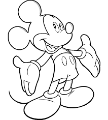 Tranh tô màu chuột mickey | Đang yêu, Chuột mickey, Hình ảnh