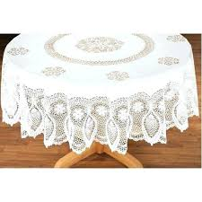 lace tablecloths best vinyl tablecloth kitchen drake for round designs matching curtains round kitchen table cloth