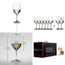 riedel vinum chablis chardonnay glasses pay for 6 get 8