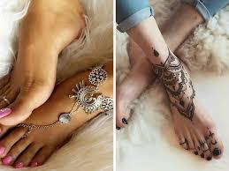 Tatuaggio Bracciale Caviglia Donne