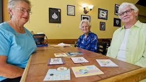 Winona women turn stamping hobby into food shelf donations | MPR News