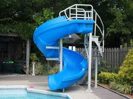 Swimming Pool Slides Inspiration \u2014 Home Landscapings