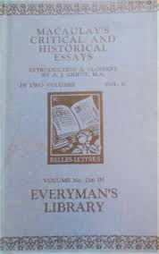 macaulay s critical and historical essays vol the macaulay s critical and historical essays vol 2 the bookcellars part 1