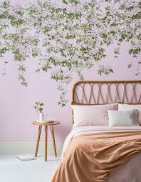 Bed Frame Ideas For Wallpapered Walls – Sian Zeng