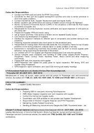Supplier Quality Resume - Kleo.beachfix.co