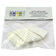 <b>Aromatherapy</b> Diffuser <b>Refill Pads</b>, <b>10</b> Pads, Aura Cacia